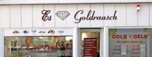 Goldankauf Reutlingen Esslinger Goldrausch - Eingang